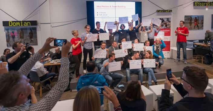 Arbeitszeugnis Hackathon Berlin
