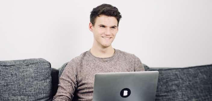 Mitarbeiter Axel in der Bitfactory