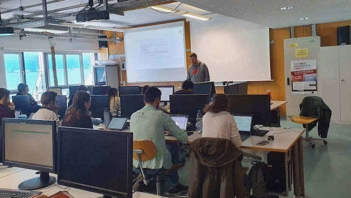 Vorlesung an der Hochschule der Medien