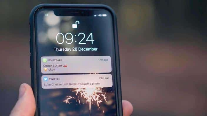 Push-Nachrichten auf iPhone