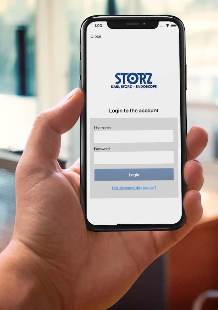 Preview Service App KARL STORZ