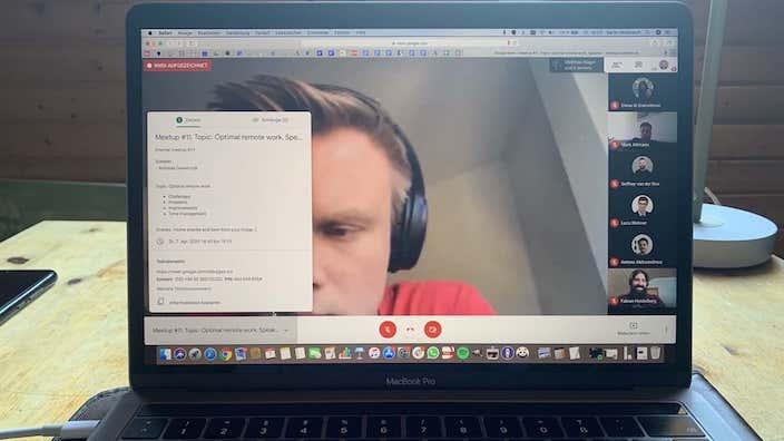 Remote Work Meetup bei der Bitfactory