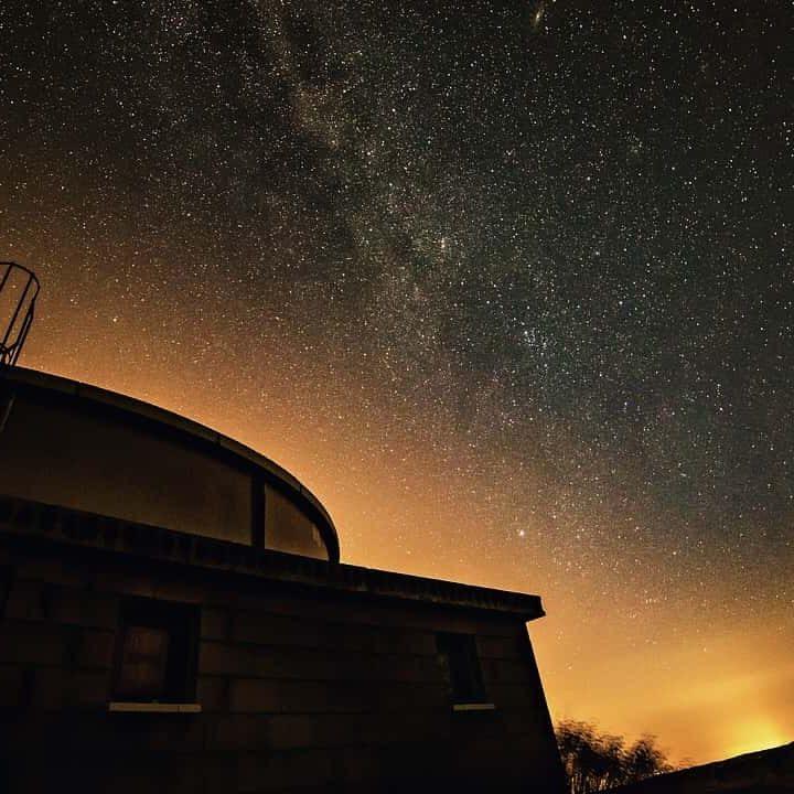 Observatorium Nachthimmel