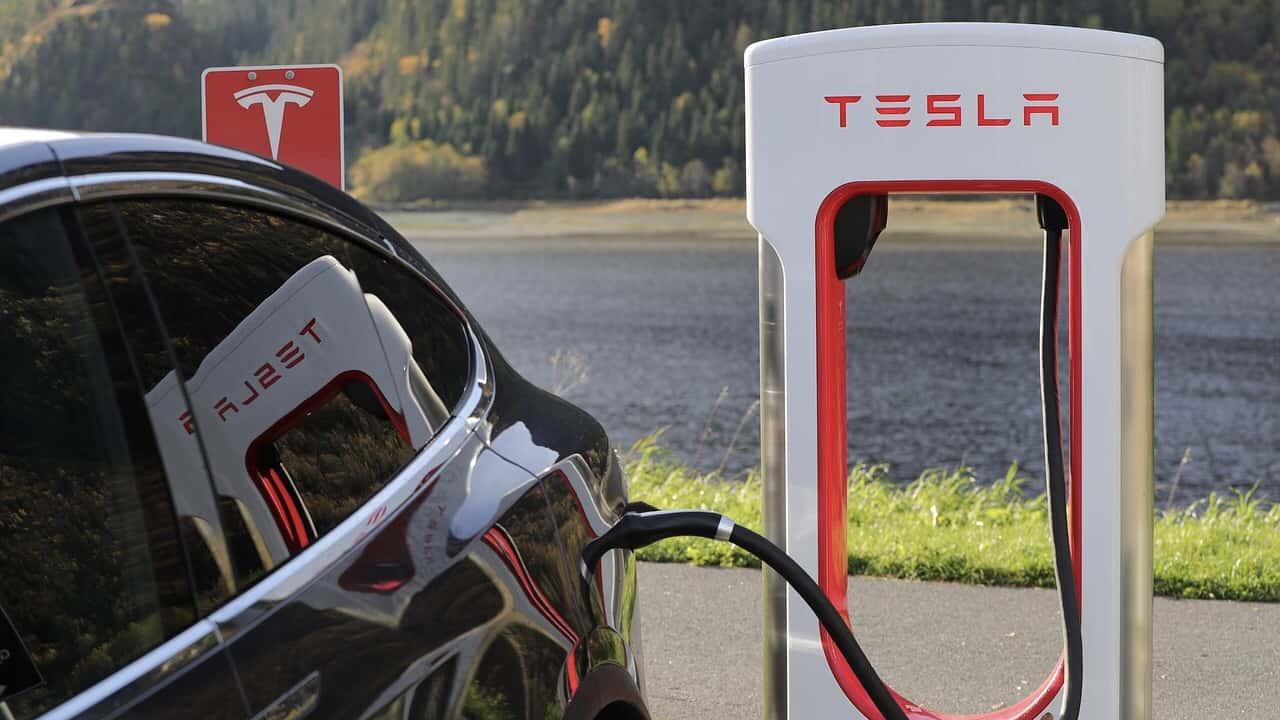 Tesla Elektroauto Batterie
